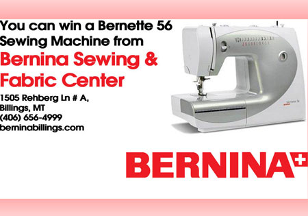 Bernina Showcase Header