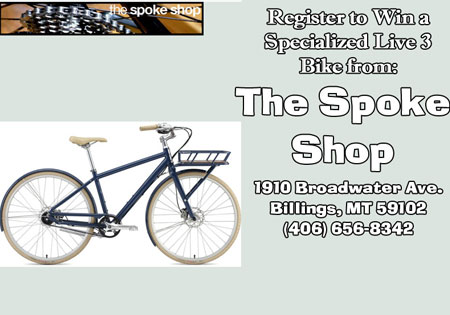 Win a New Bike, Spoke Shop