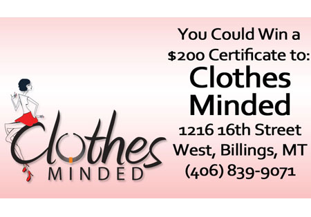 Win $200 of New Clothes, Clothes Minded