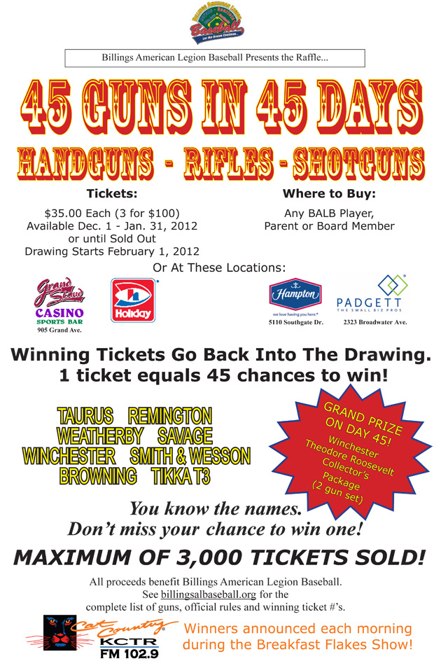 where to sell raffle tickets
