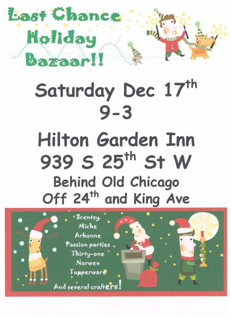 Last Chance Holiday Bazaar