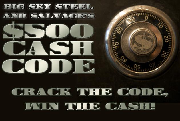 $500 Cash Code